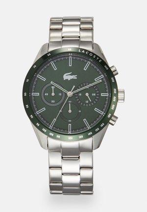 BOSTON - Chronograph watch - silver-coloured