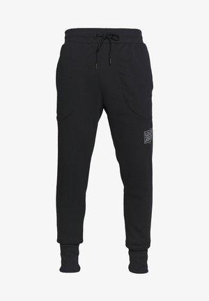 BASELINE JOGGER - Spodnie treningowe - black/halo gray
