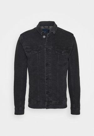 NOOS - Džínová bunda - denim black