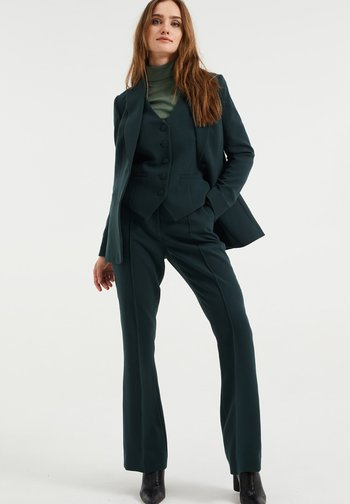 Trousers - moss green