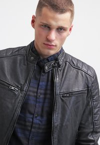 Be Edgy - BEANDY - Leather jacket - black - 3