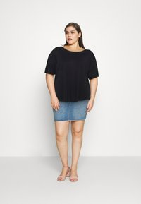 Anna Field Curvy - T-shirts - black