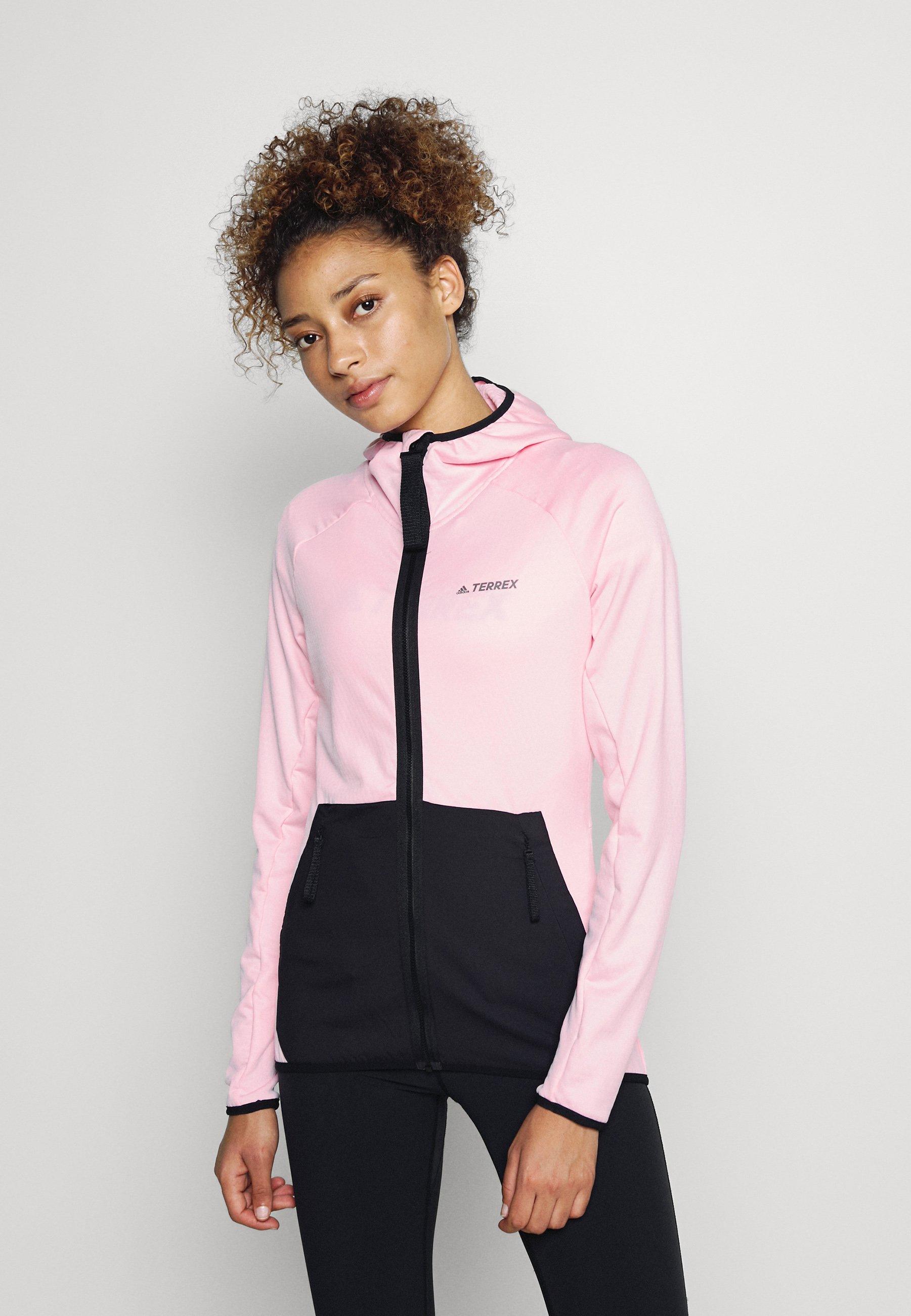 Women TERREX TECH FLOOCE LIGHT HOODED - Fleece jacket