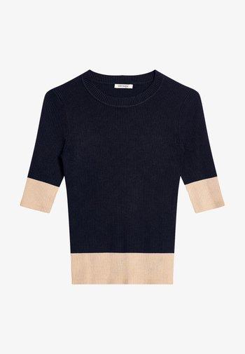 Print T-shirt - nachtblau