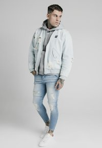 SIKSILK - Chaqueta vaquera - light blue - 1