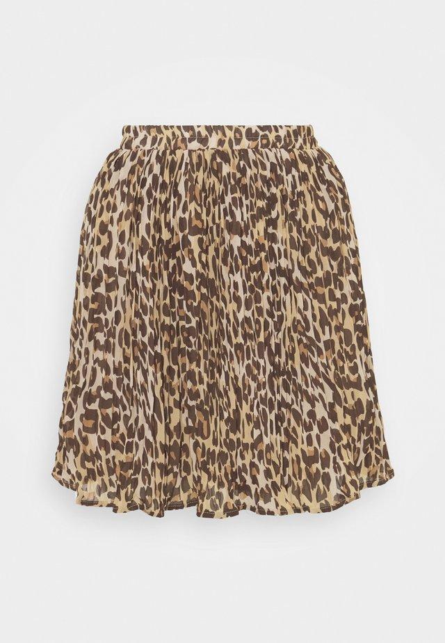 VIRENETA SKIRT - Mini skirt - black
