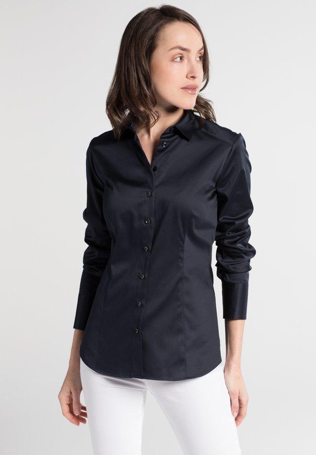 SLIM FIT - Button-down blouse - marineblau