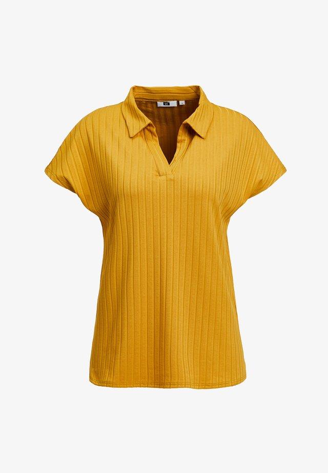Koszulka polo - mustard yellow