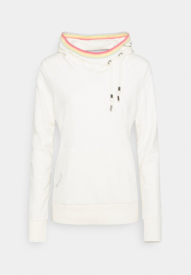 ERMELL - Sweat à capuche - off white