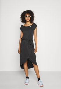 Ragwear - ETHANY - Jersey dress - black - 1