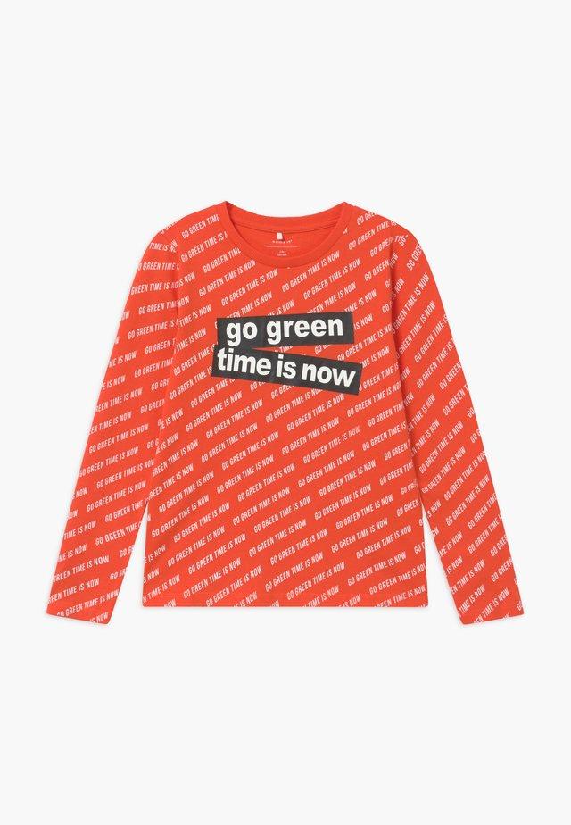 NKMLEVIN  - T-shirt à manches longues - tigerlily