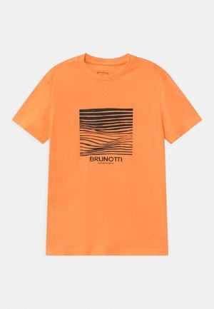 TIM - Print T-shirt - faded orange