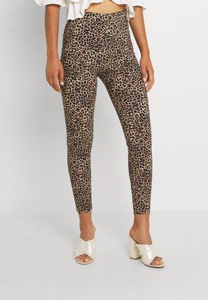 VIMARIKKA  - Leggings - Trousers - humus//tigers/black