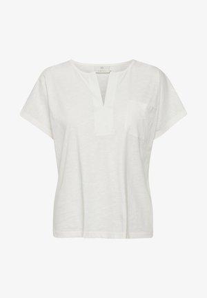 KAABELA  - T-shirts basic - chalk