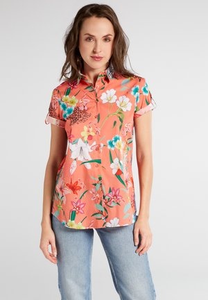 MODERN CLASSIC - Button-down blouse - bunt