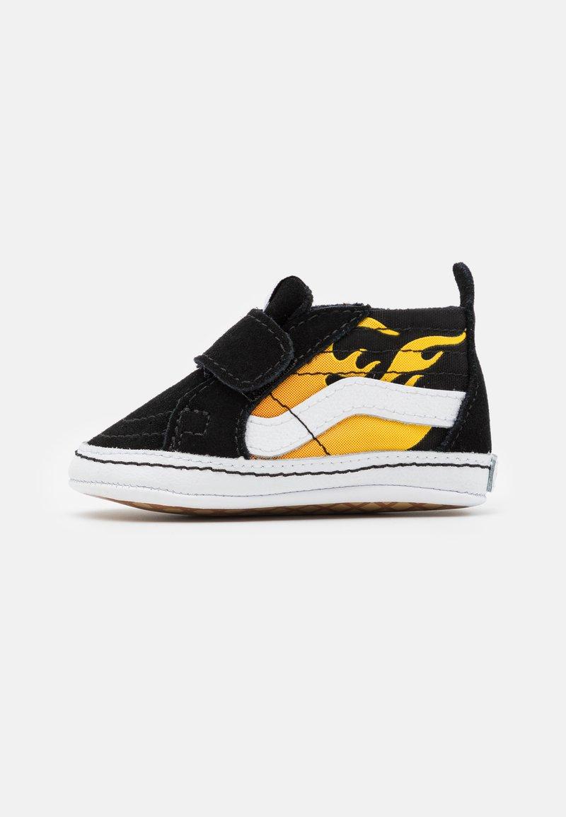 Vans - SK8 CRIB - First shoes - black/true white