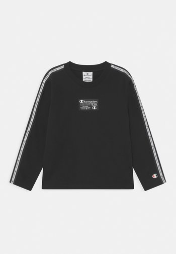 CHAMPION CREWNECK UNISEX - Sweatshirt - black