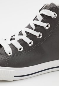 Cotton On - CLASSIC LACE UP UNISEX - High-top trainers - grey - 5