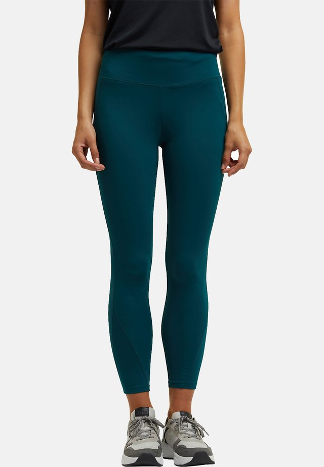 MIT E-DRY - Leggings - dark teal green