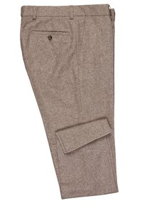 Carl Gross - CG SHIVER - Suit trousers - hellbraun - 2