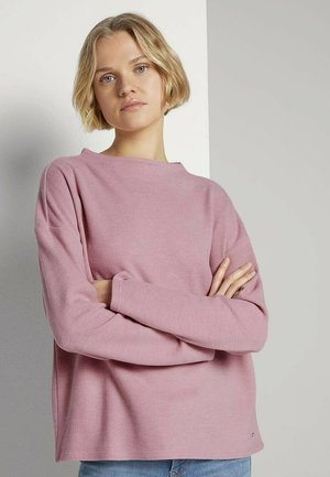 Sweatshirt - cozy rose