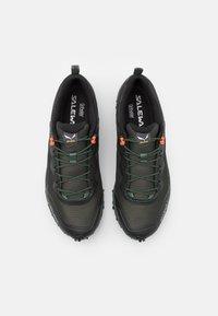 Salewa - MS ULTRA TRAIN 3 - Trail running shoes - raw green/black out - 3