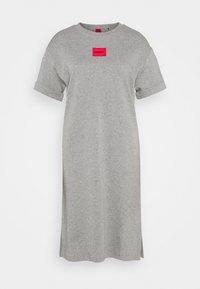 HUGO - NEYLETE REDLABEL - Sukienka z dżerseju - grey melange - 4