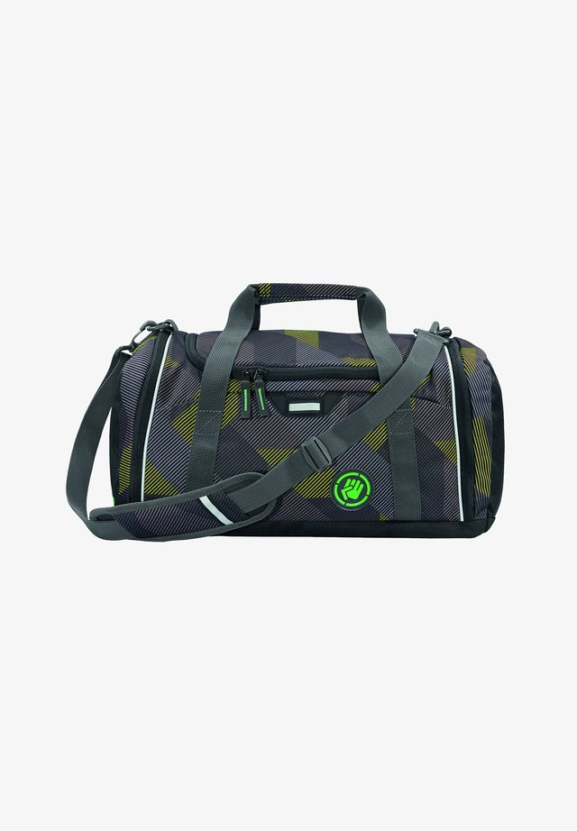 SPORTERPORTER - Sports bag - polygon bricks grey