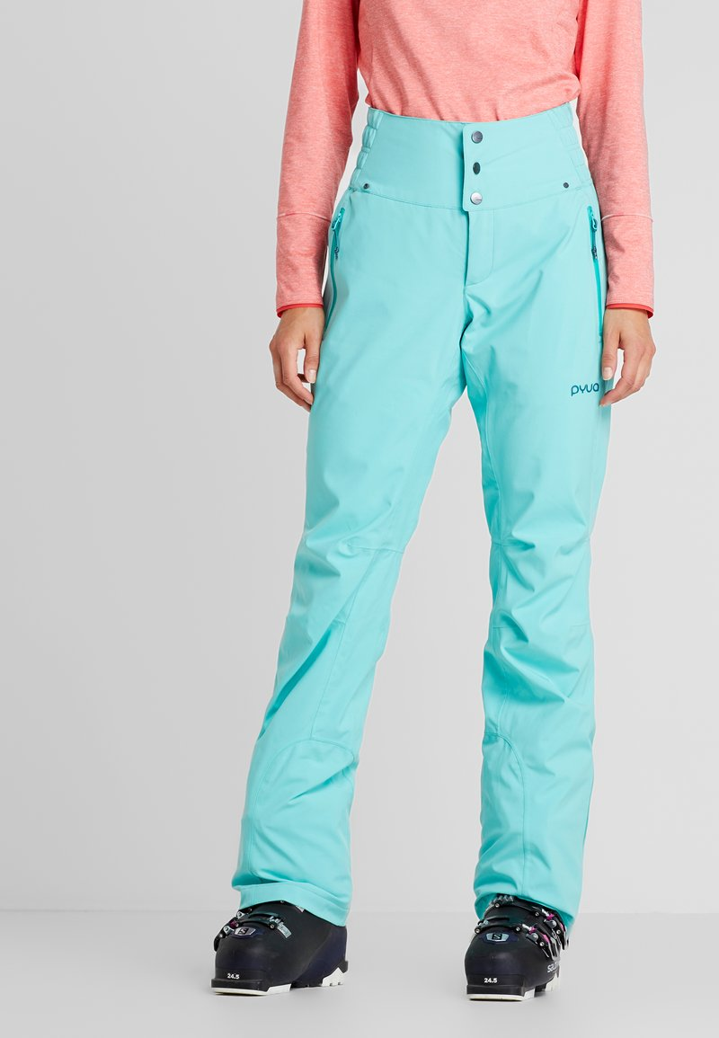 PYUA - SOOTH - Snow pants - pool blue