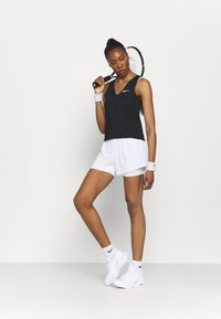 Nike Performance - TANK - Funktionsshirt - black/white - 1