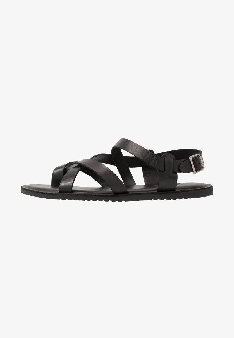 Zign - UNISEX - T-bar sandals - black