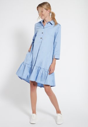 KLEID CANEA - Shirt dress - hellblau