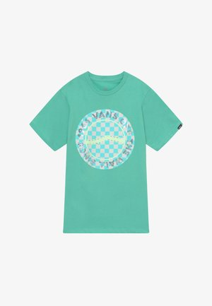 AUTISM AWARENESS BOYS - Camiseta estampada - dusty jade green