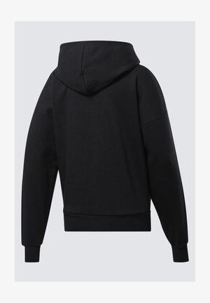 TRAINING ESSENTIALS FULL-ZIP HOODIE - Sweatjakke /Træningstrøjer - black
