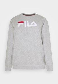 Fila Plus - PURE LONG SLEEVE - Felpa - light grey - 4