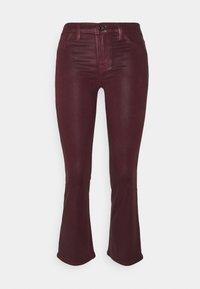 J Brand - SELENA MID RISE CROP - Bootcut jeans - stellar courant - 0