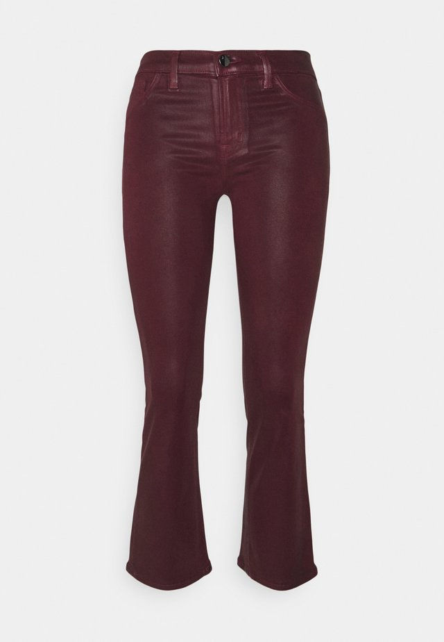 SELENA MID RISE CROP - Bootcut jeans - stellar courant