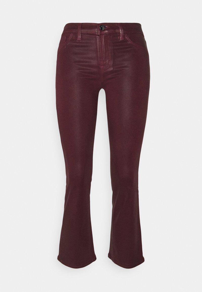 J Brand - SELENA MID RISE CROP - Bootcut jeans - stellar courant