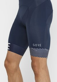 Gore Wear - C5 OPTILINE KURZE TRÄGERHOSE - Tights - marine blue/white - 3