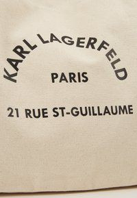 KARL LAGERFELD - RUE ST GUILLAUME TOTE - Tote bag - natural - 6