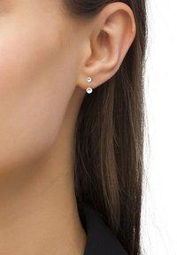 Heideman - STELA PERLE  - Earrings - silberfarben poliert - 0