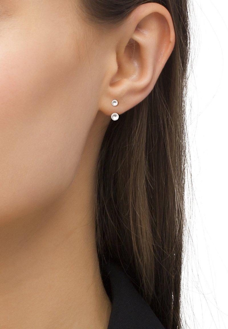 Heideman - STELA PERLE  - Earrings - silberfarben poliert