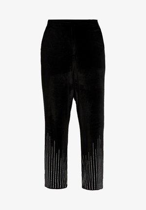 SHINE TROUSER - Pantalones - black