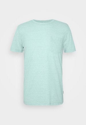 STRUCTURED  - T-shirt print - small blue
