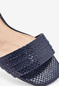 Next - Sandaletter med kilklack - blue - 5