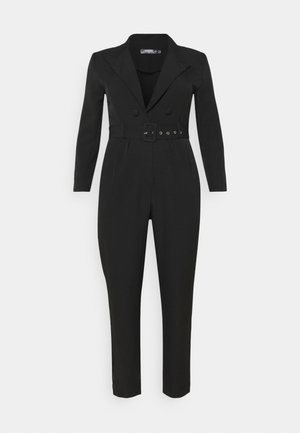 TAILORED BELTED - Overal - black