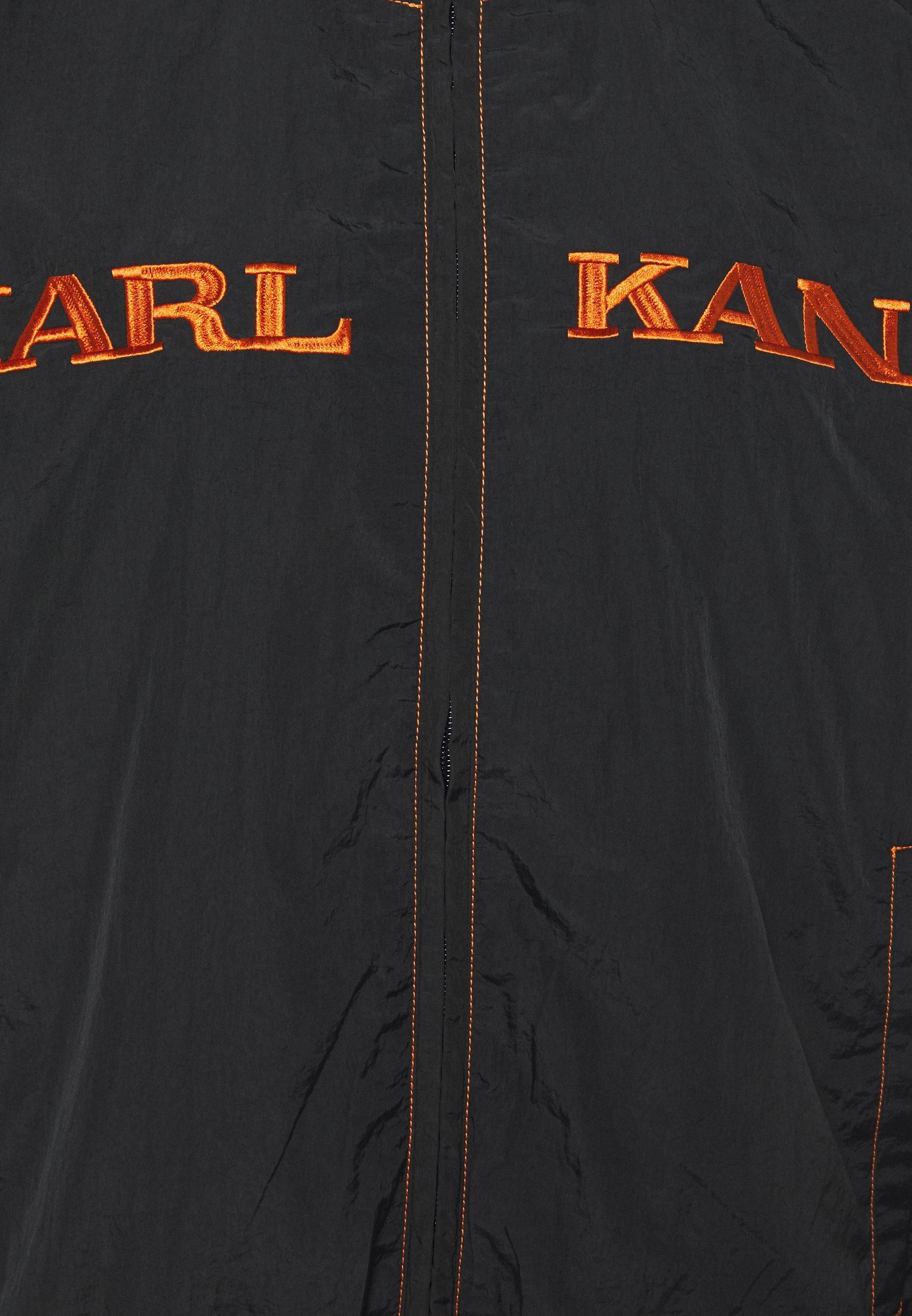 Karl Kani RETRO TRACKJACKET  Leichte Jacke black/schwarz