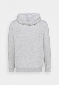 Umbro - LARGE LOGO HOODIE LOOPBACK - Sweatshirt - grey marl/black - 1