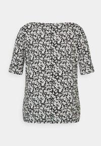 Lauren Ralph Lauren Woman - JUDY ELBOW SLEEVE - Print T-shirt - black/white - 6