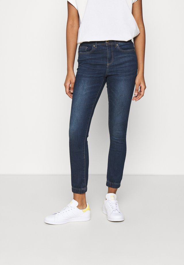 ONLWAUW LIFE - Jeans Skinny - dark blue denim